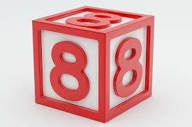 number 8 cube