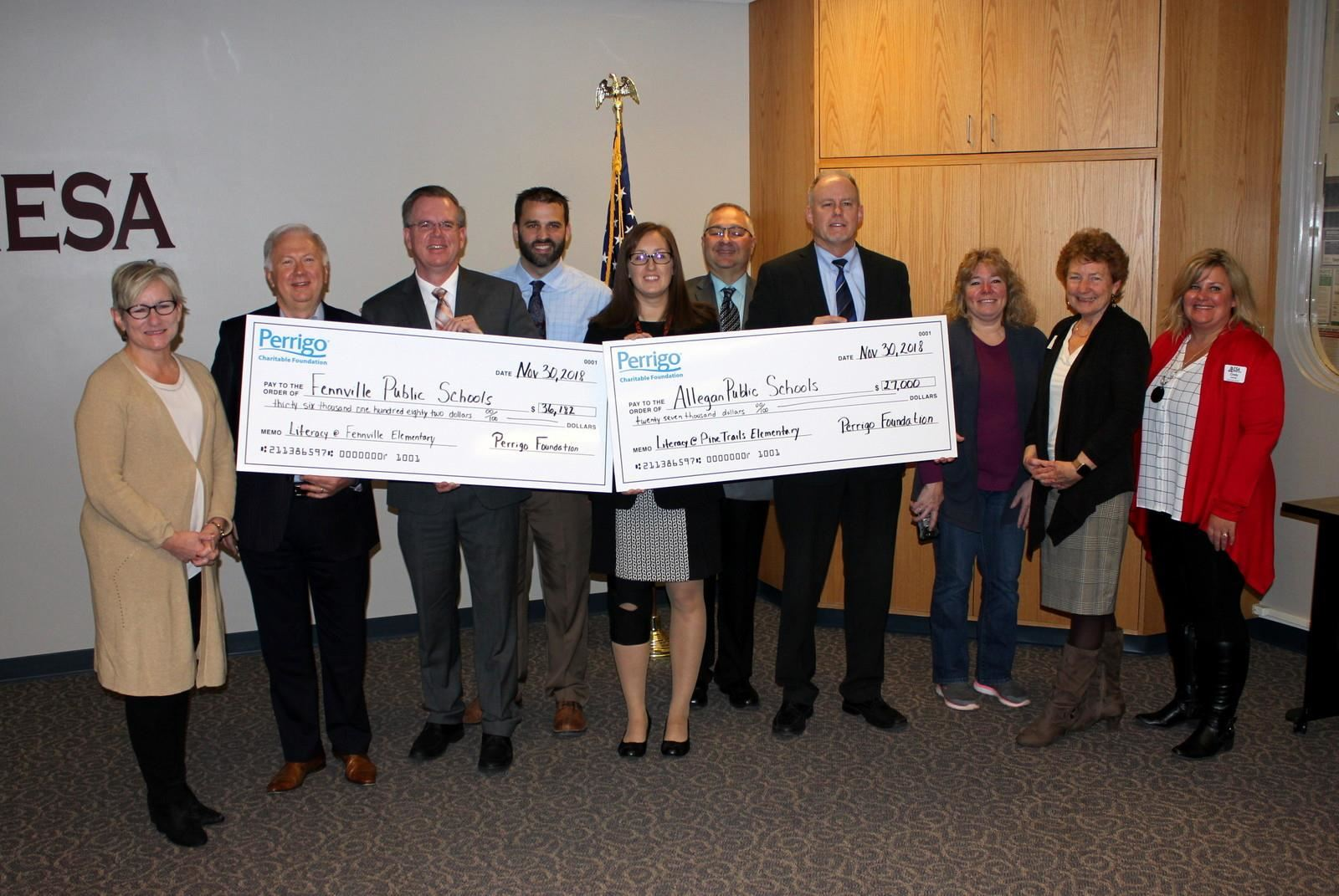 Perrigo Donates More Than $60,000 To Reading Now Network Program