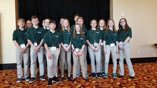 Plainwell Students in STEM Competition