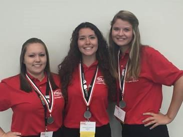 Tech Center Students Excel at National Conference