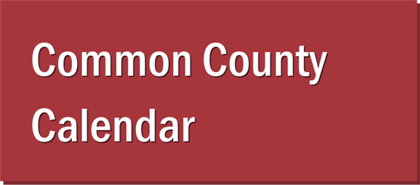 Common County Calendar